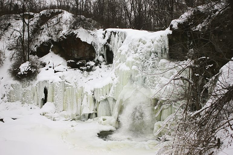 Frozen Waterfall @The Merrythought
