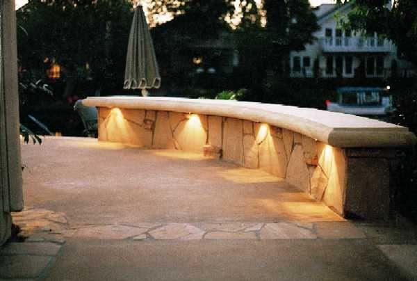 Outdoor Bench Lighting Google Search Landscape Lighting