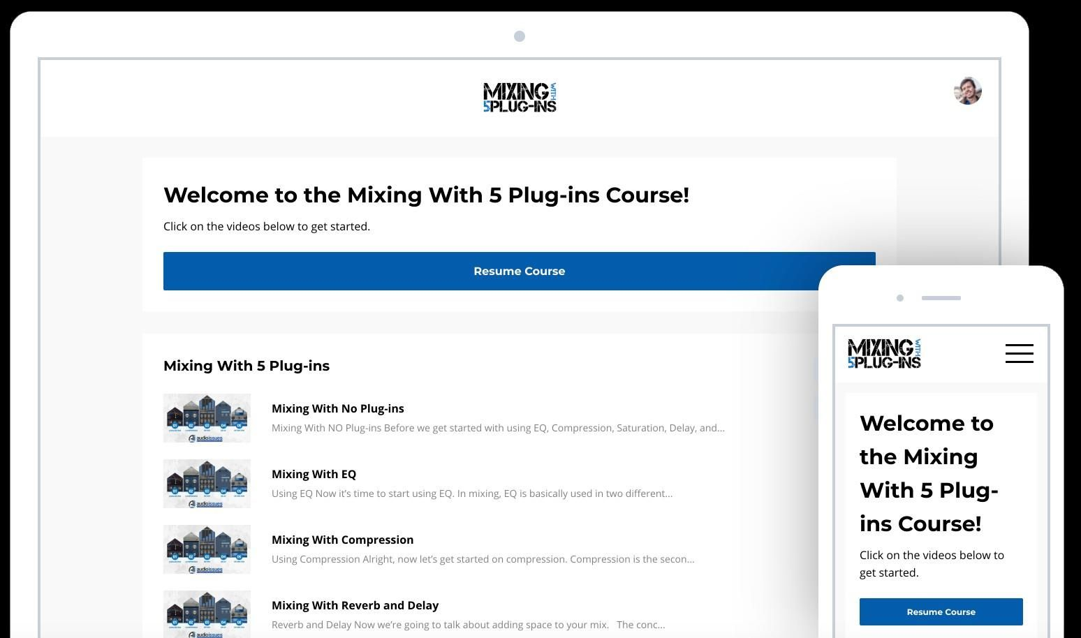 Mixing With 5 Plugins Mastering the Step By Step Mixing