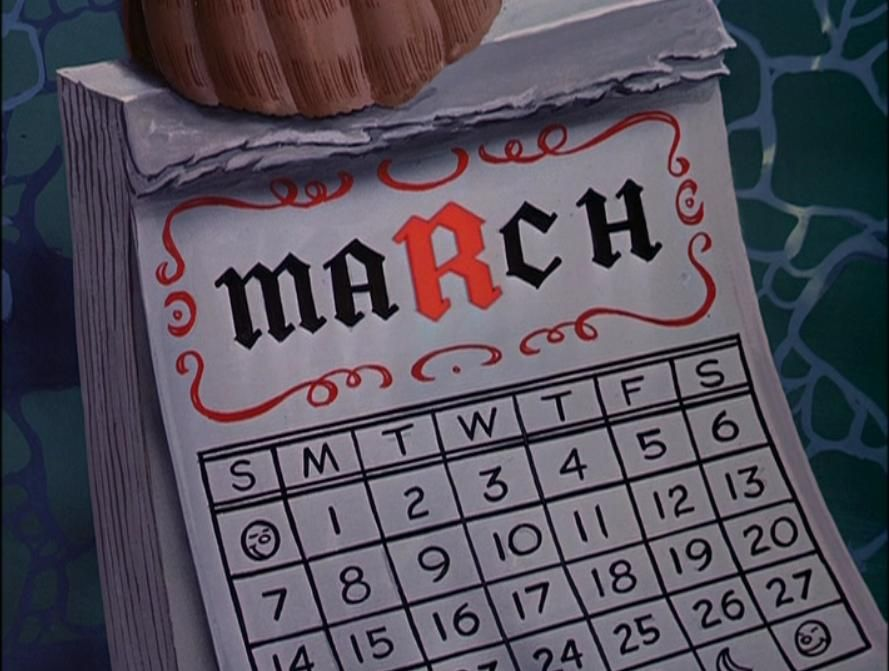 In The Walrus And The Carpenter Sequence The R In The Word March