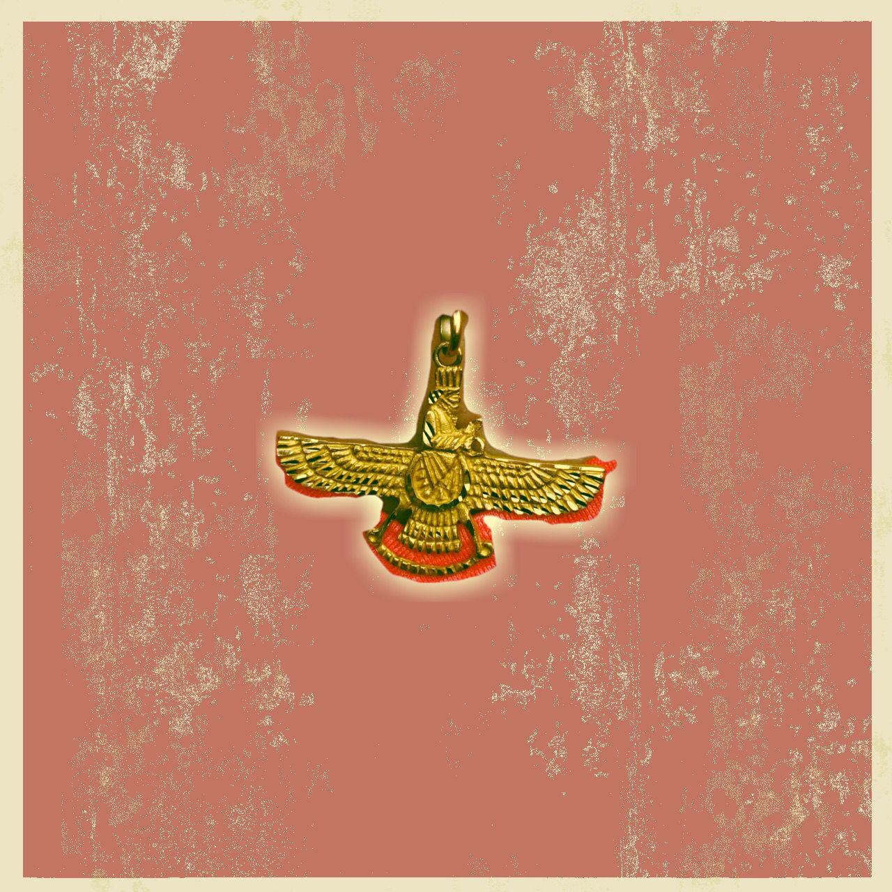 The Zoroastrian symbol - an antique religion in Persia