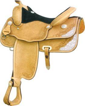 Billy Cook Saddlery Travis County Show Saddle 17