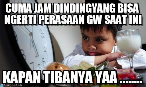 Kumpulan Foto Gambar Meme Lucu Puasa Sahur Buka Puasa Dan Tarawih