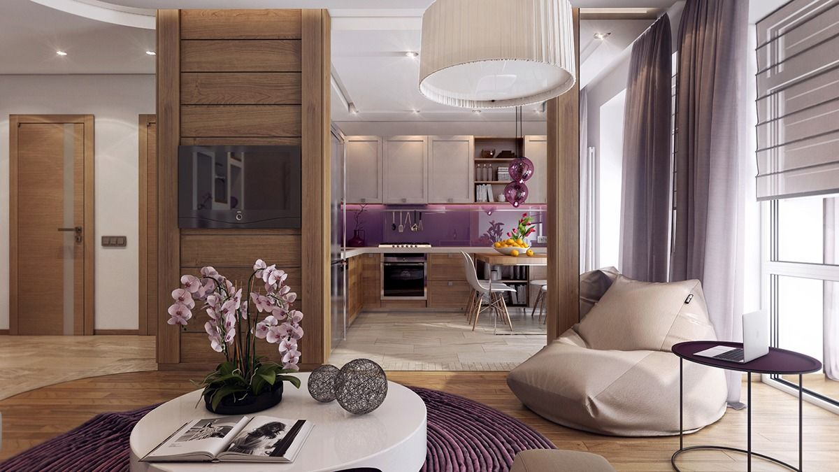 3 One Bedroom Apartments Under 750 Square Feet (70 Square Metres) [Includes  Layouts