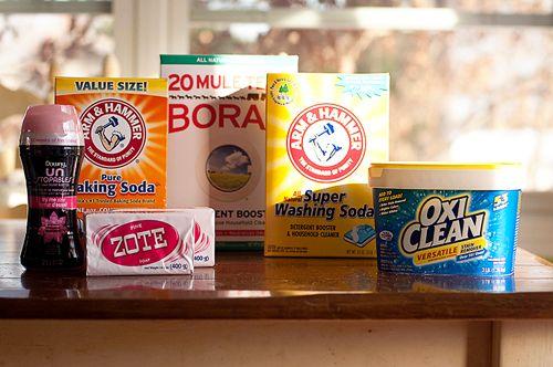 Diy Laundry Soap Detergent Recipe Washing Soda Borax Zote With