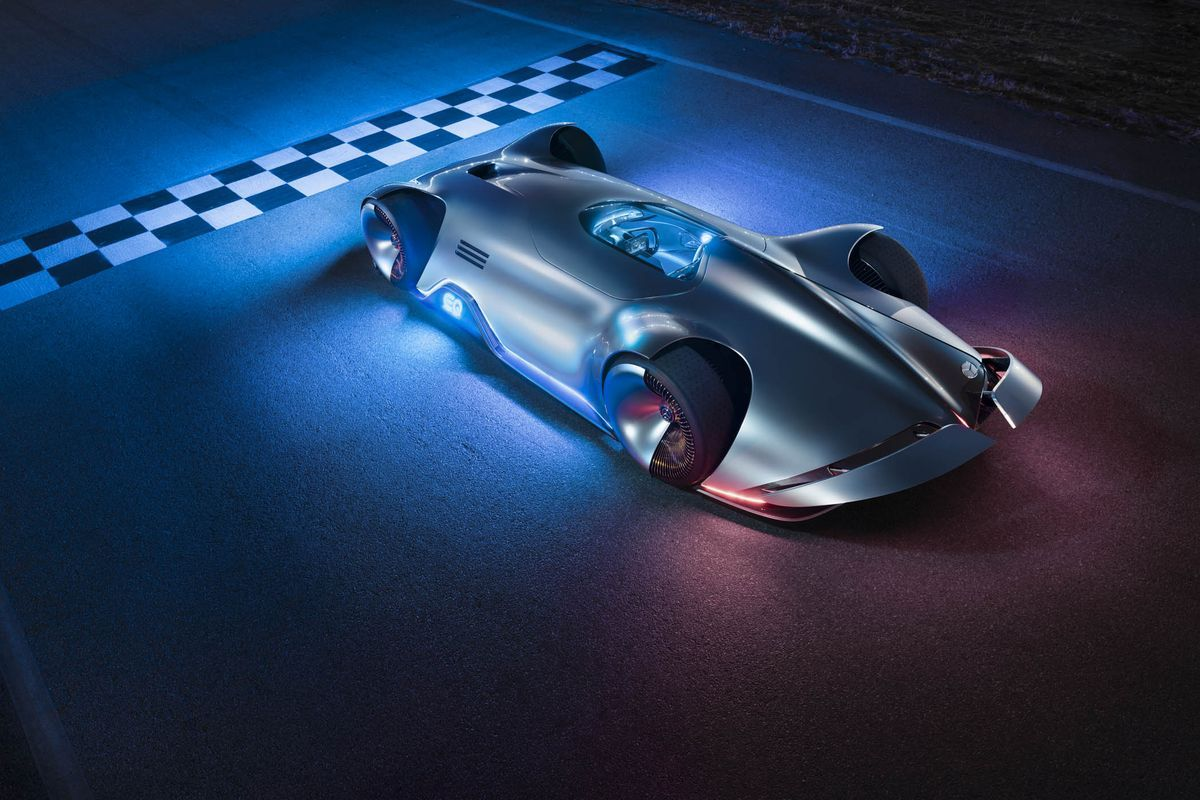 Mercedes S New Concept Car Goes Back To The Future Concept Cars Mercedes Benz Mercedes