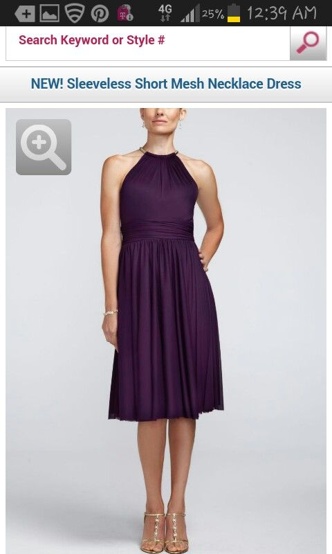 I think this would be a great pick! The halter style would be very flattering on all three girls and the length is Great!