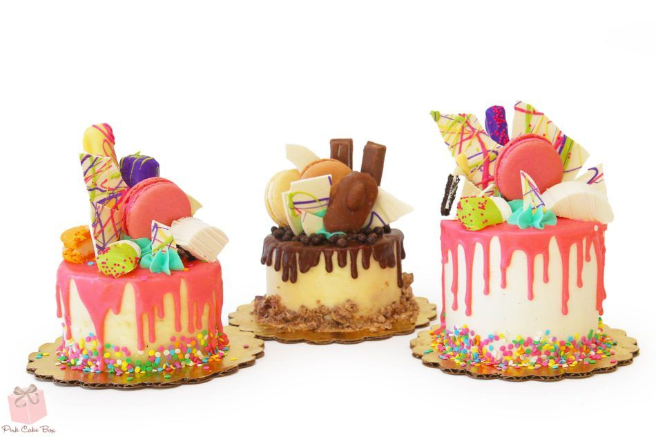 Cake Box Decorating Ideas 18 Mouthwatering Drip Cake Ideas » Pink Cake Box  Drip Cakes