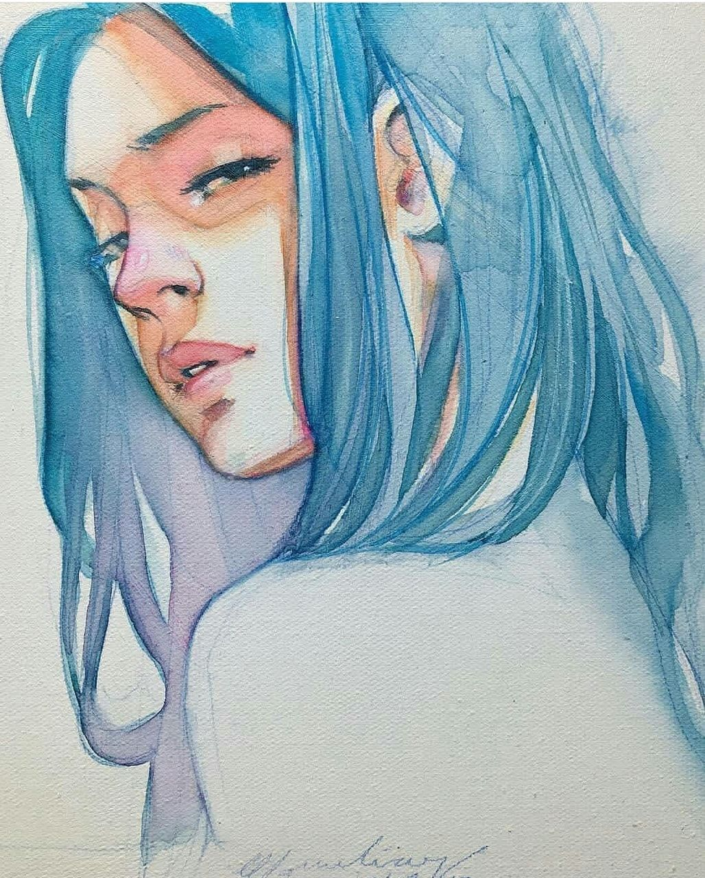 Seldsum Pinterest Seldsum Art Watercolor Canvas Watercolor Art
