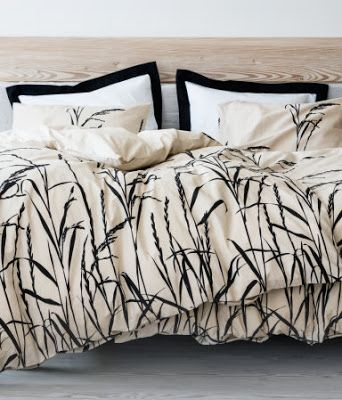 Style Crush H M Home Designer Bed Sheets Black And White