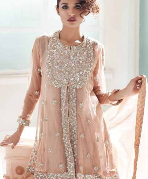 68c6eda7f3 latest short frock style in Pakistan girls net dresses 2017 pakistani party  dresses with price