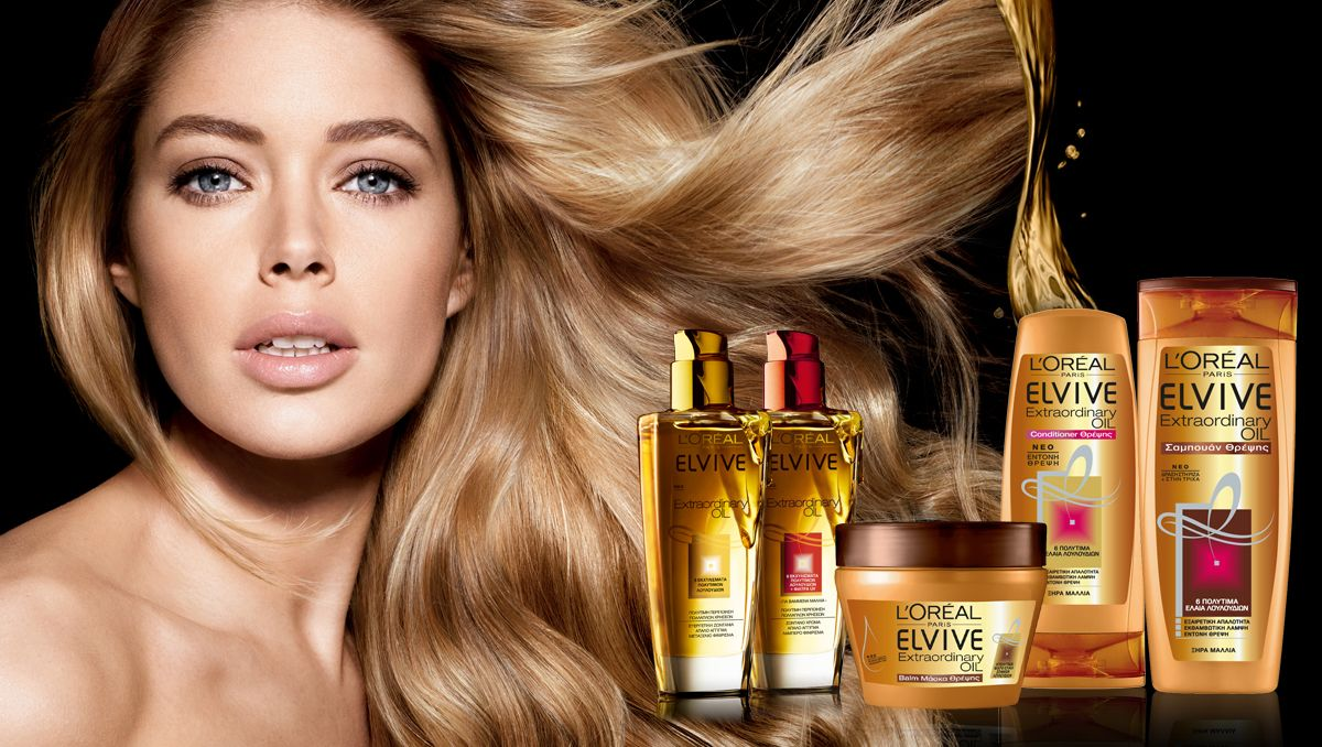 Diagwnismos Elvive Exraordinary Oil Hair Photography Long Blonde Hair Cool Hairstyles