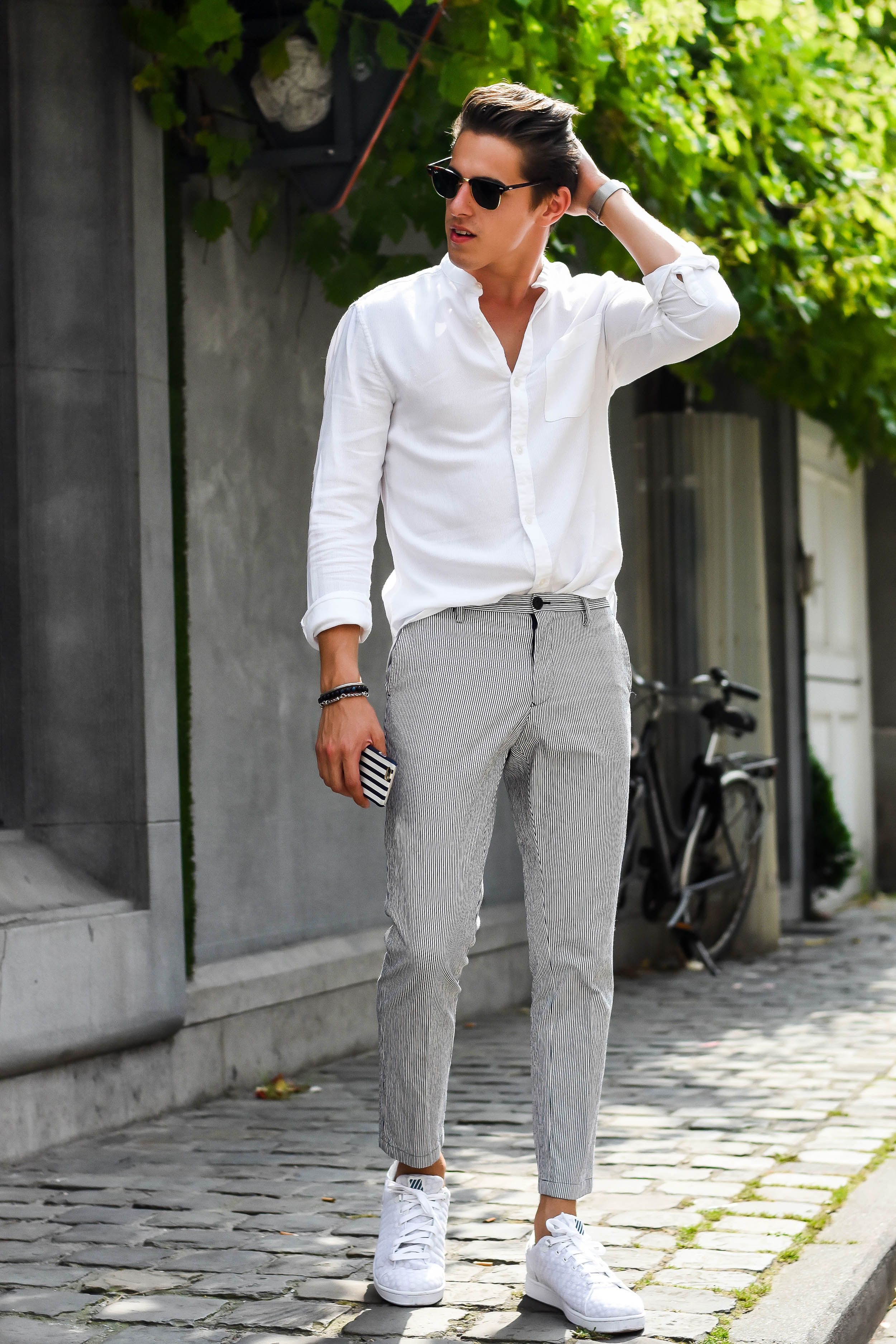 White Sneakers Men