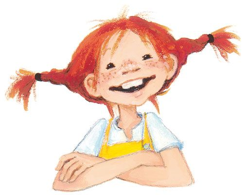 Oh I Loved Her As A Child Pippi Long Stocking Craft Ideas