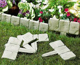 Cobble Stone Garden Edging (40   SAVE £10) | Solutions World