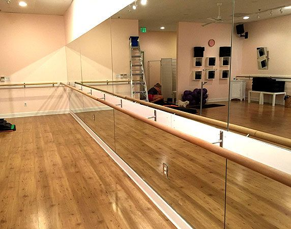 A Row Of 14 Ft Ballet Bars Pictured Bella Barre Of