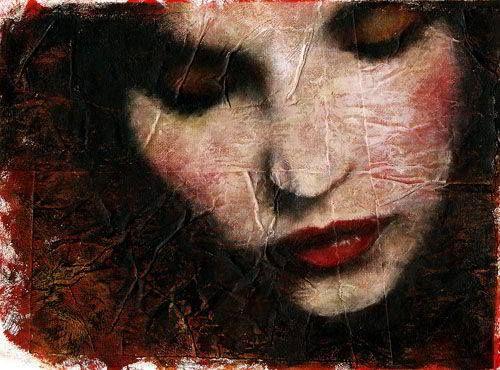 Pintura de Rosaria Battiloro - Itália