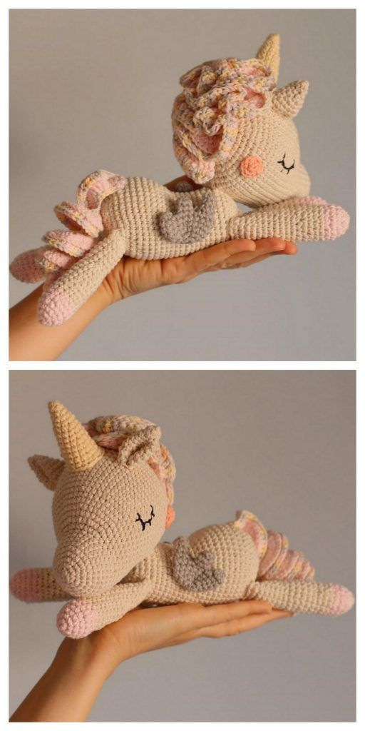 Amigurumi Little Unicorn Free Pattern – Amigurumi Free Patterns And Tutorials #freeamigurumipatterns