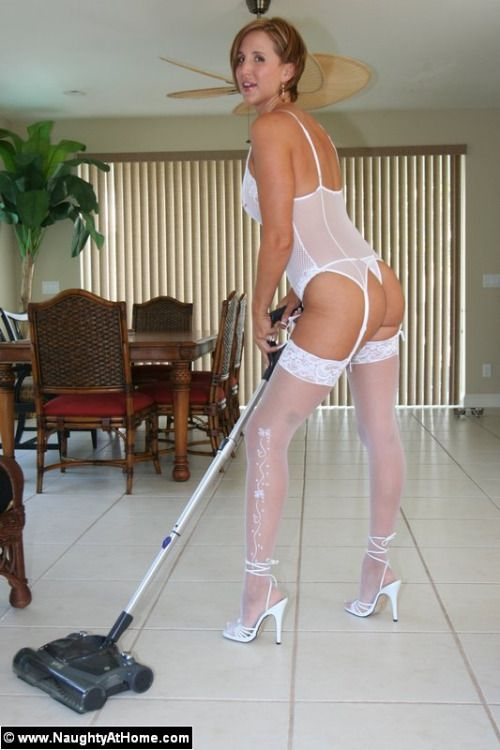 Ladies in white stockings