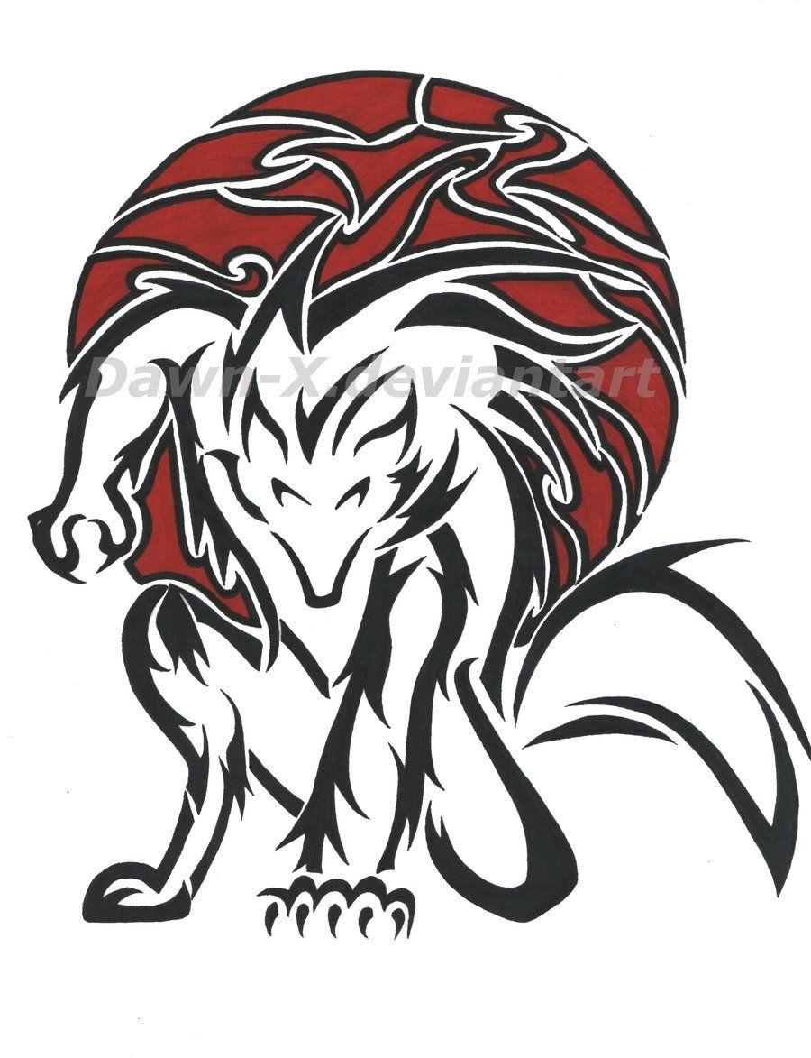 Tribal Werewolf Tribal Animal Tattoos Tribal Wolf Tattoo Werewolf Tattoo