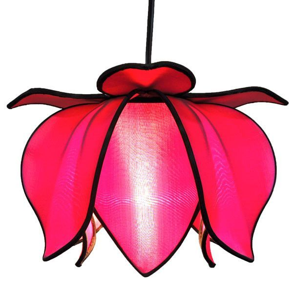 Hanging Baby Blooming Lotus - Pink