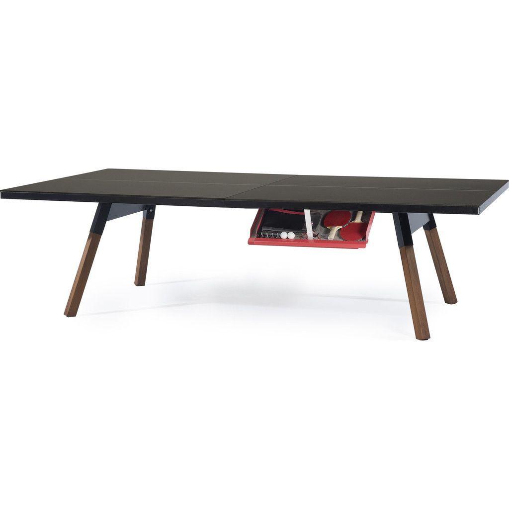 DUNLOP 2Piece Table Tennis Table
