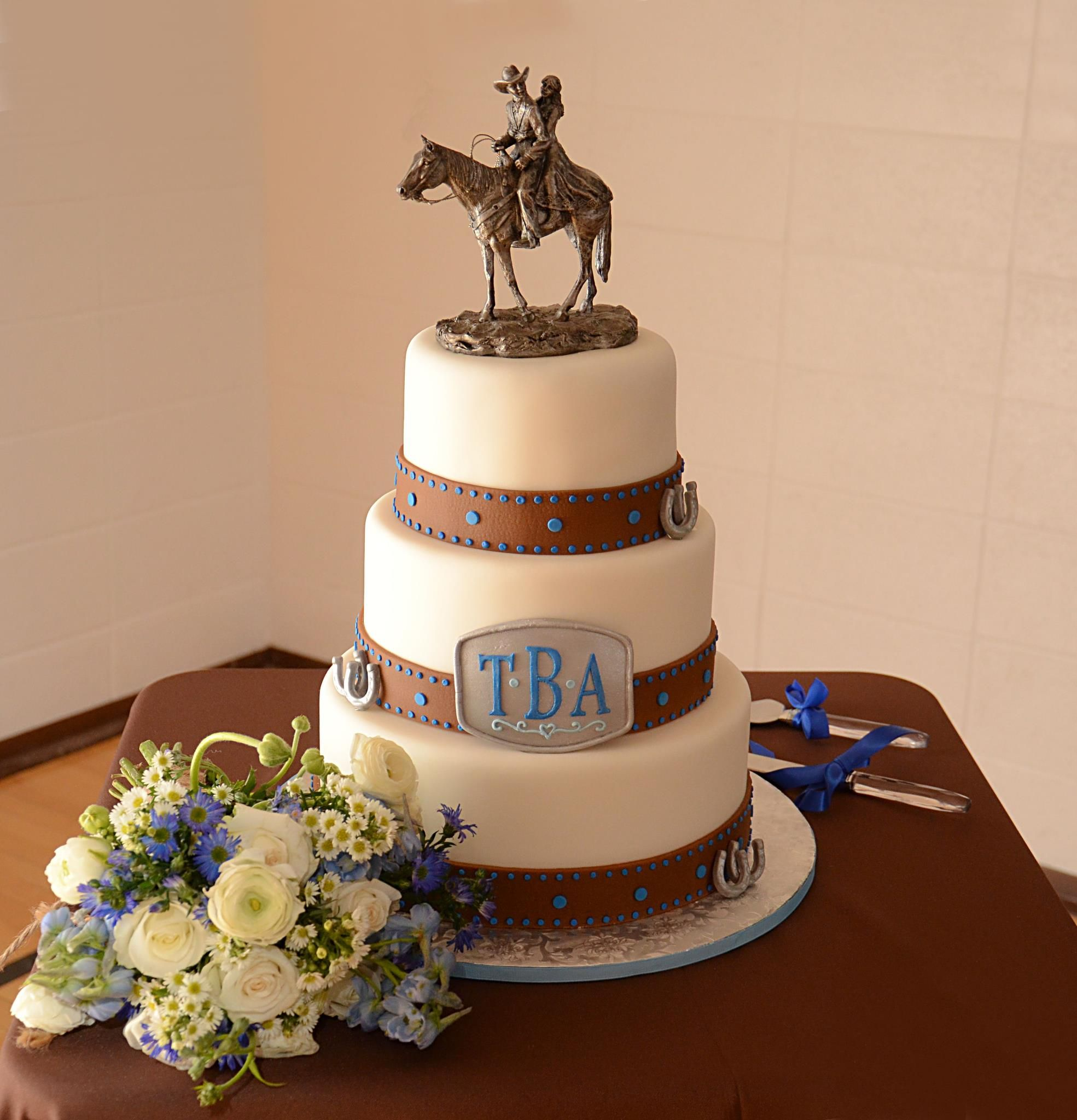 Western Themed Wedding Cake! Love It! Please Check Out