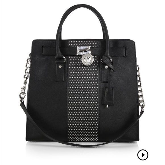 Michael Kors Large Hamilton Satchel Like new only carried a few times!! No flaws Michael Kors Bags Satchels