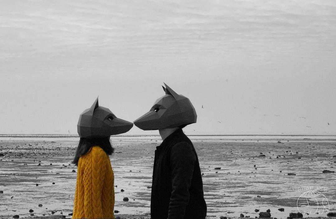 """@likeajamong  #데이트스냅 #할로윈 #wintercroft#foxmask #제부도"""
