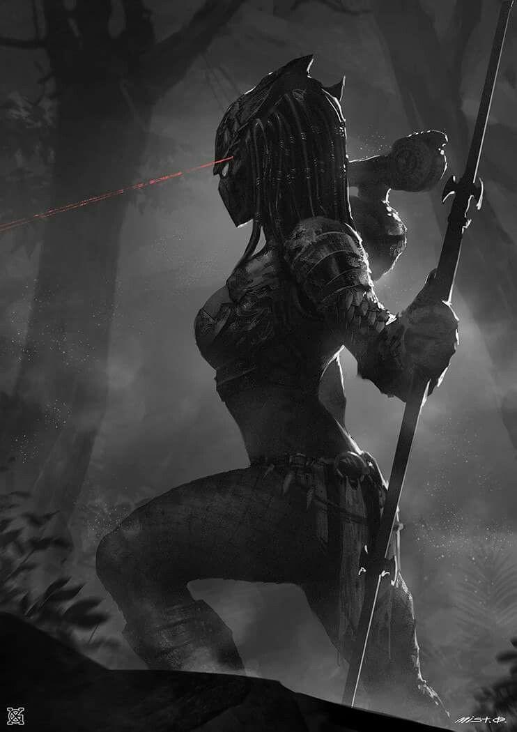 Female Predator By Mistxg In 2019 Predator Art Predator