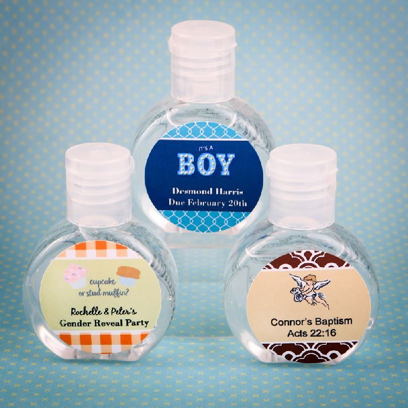 Personalized Expressions Hand Sanitizer Favor Baby In 2020 Hand