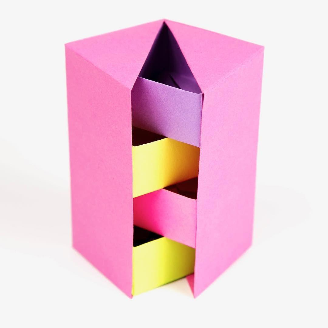 Origami Secret Stepper Box Tutorial: https://youtu.be ... - photo#15