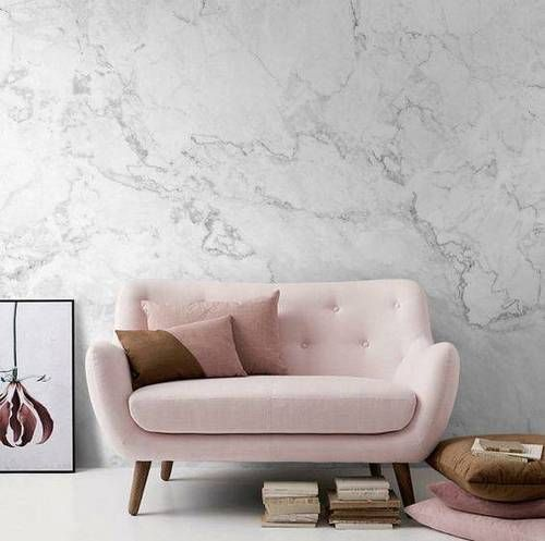 15 Diy Ideas With Faux Marble Domino Marble Room Wallpaper Living Room Living Decor