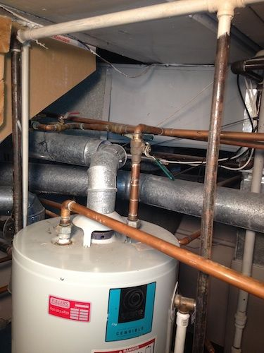 High Efficiency Bradford White Double Water Heater Install Before Water Heater Home Appliances Installation