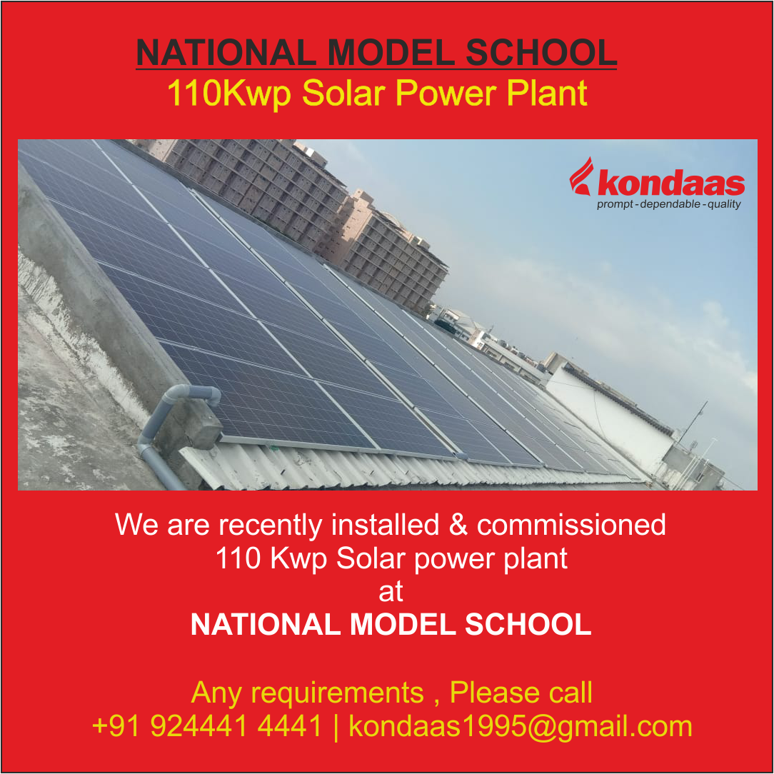 Solar Power Plant For School In 2020 Solar Power Plant Solar Solar Power