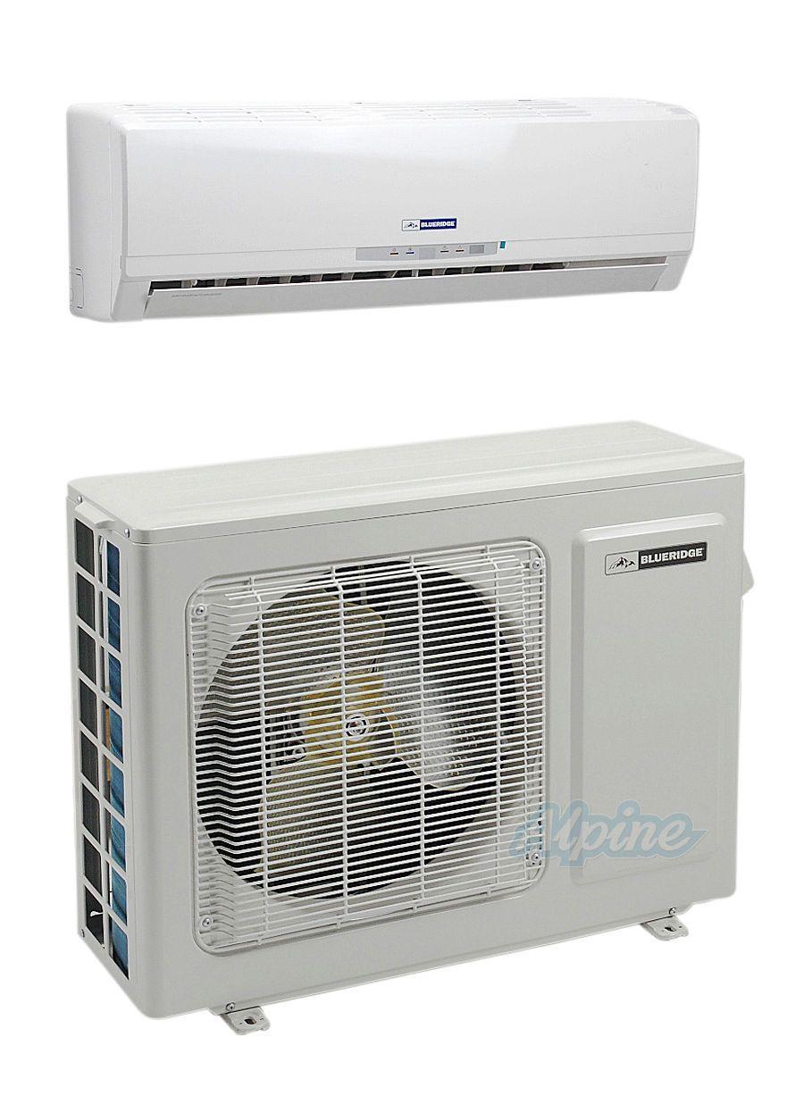 Blueridge Bmkh09 15yn4ga 9 000 Btu 0 75 Ton 15 Seer Ductless Mini Split Heat Pump System Heat Pump System
