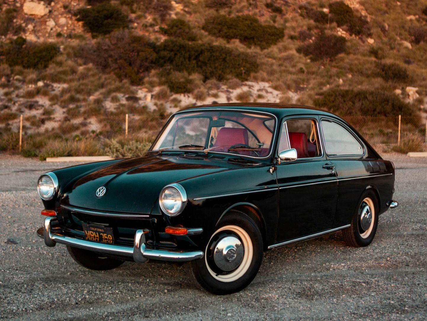Black Plate 1967 Volkswagen Type 3 Fastback Volkswagen Type 3