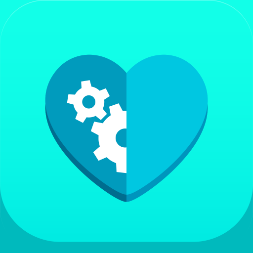 Bodywise Health Fitness Tracker App Icon Heart Logos Icons