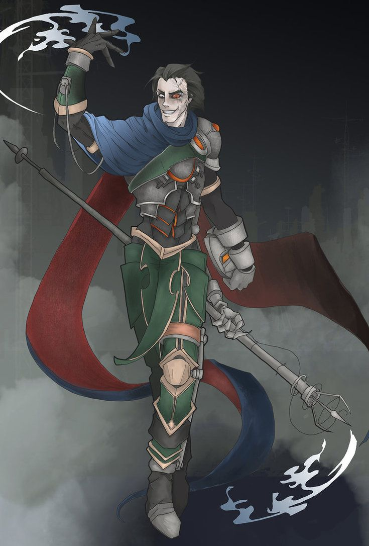 Viktor The Machine Herald League Of Legends By Karnadas League