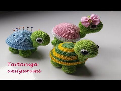 Tartaruga Amigurumi Tutorial! Pattern Free in Info Box Amigurumi ...   360x480