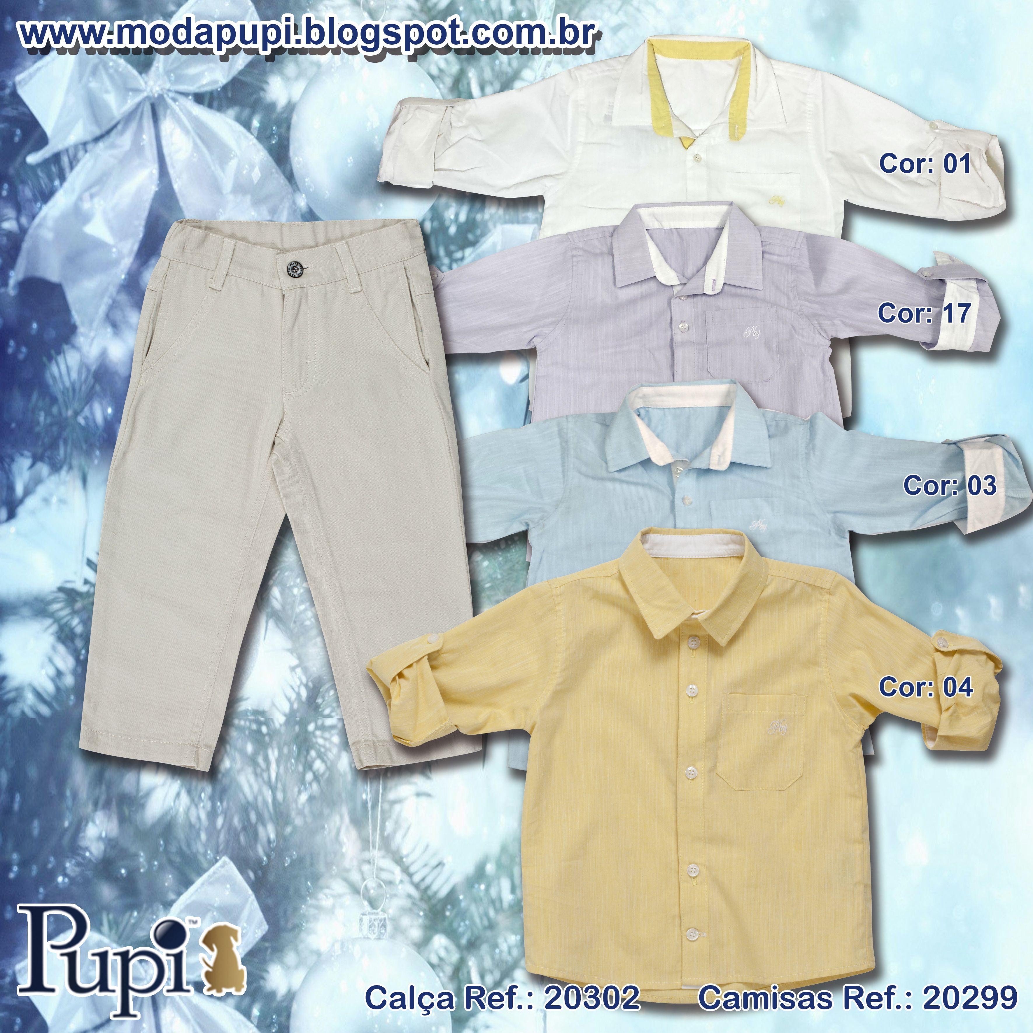 Kids Masculino para o Natal. Tamanhos 2,4,6,8,12,14. www.modapupi.blogspot.com.br