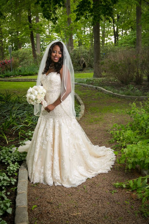 Real Plus Size Wedding Purple Ombre Wedding In Maryland Bradley