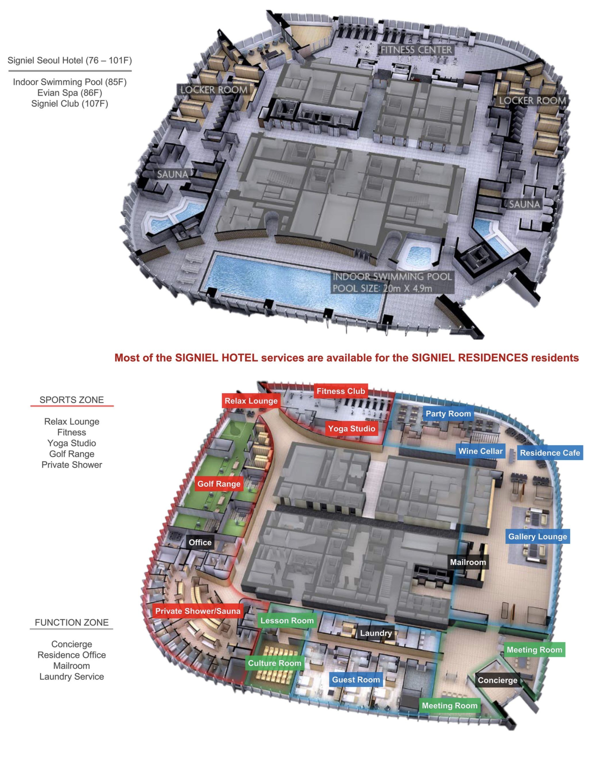 Pin By J I H A E On Hotel Layout Plan Hotel Plan Indoor Swimming Pools Hotel Services