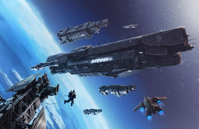 Illustration for Halo Mythos book