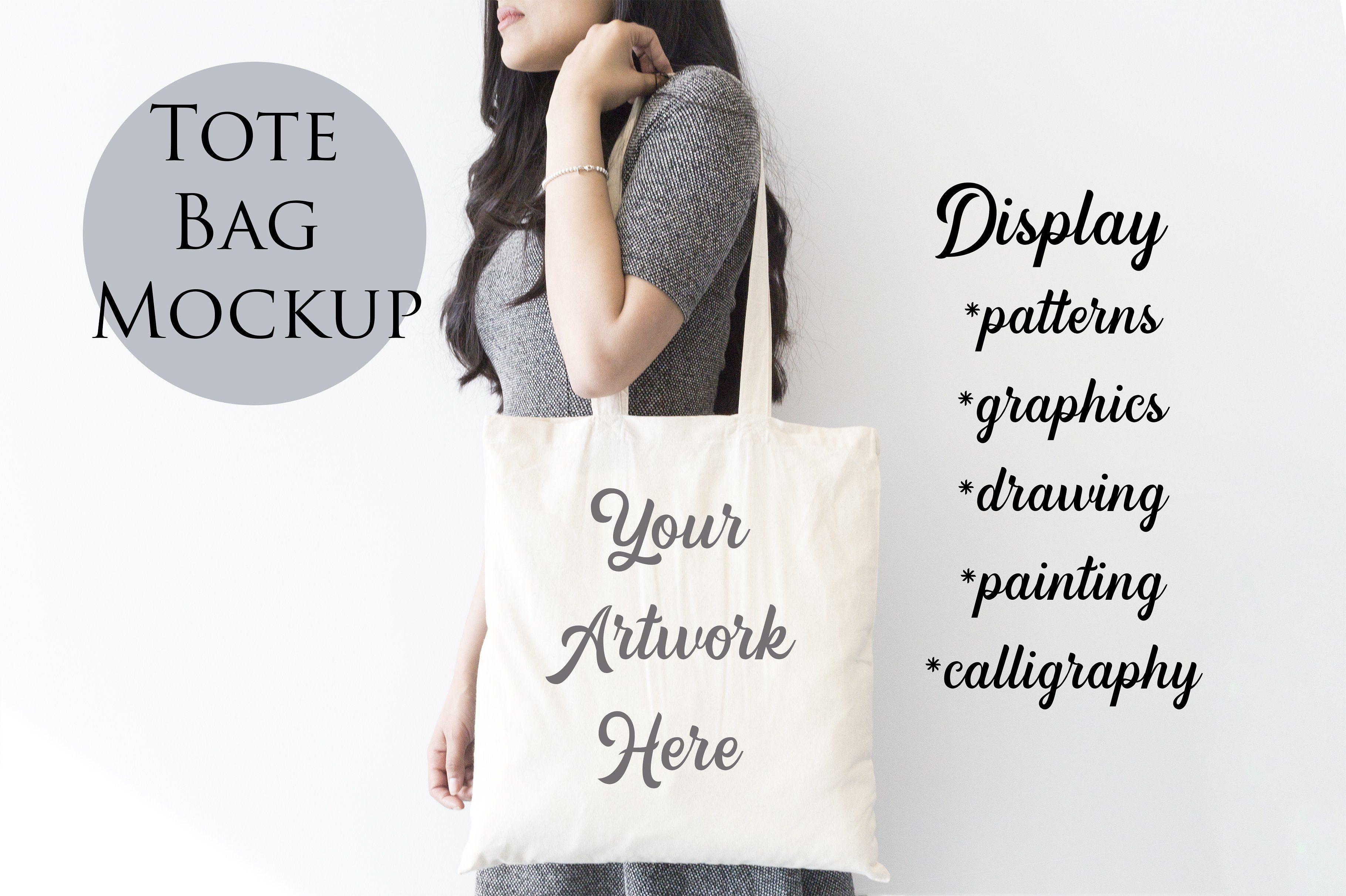 Download Tote Bag Mockup Woman Carrying Bag Design Mockup Free Bag Mockup Mockup