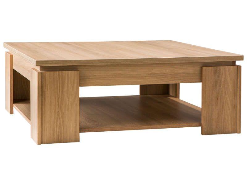 79 99 Table Basse Eden Coloris Acacia Fume Vente De Table Basse Conforama Meja Ruang Tamu Meja Ruangan