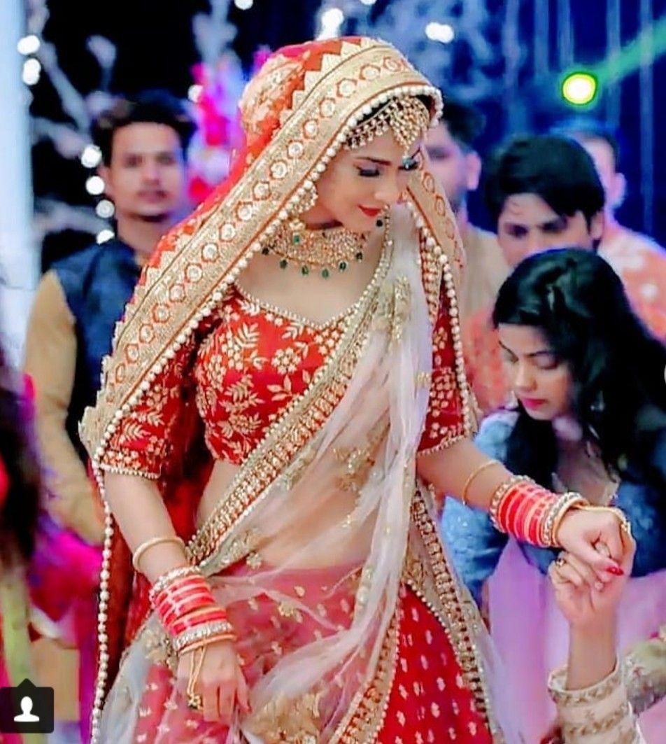 Jennifer Winget Follow Me For More Navshin Shaikh Indian Bridal Outfits Indian Bridal Dress Indian Bridal Wear