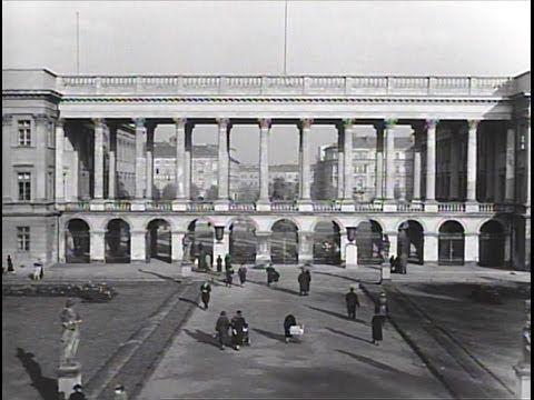 Ogród i pałac Saski przed wojną. Niesamowite nagranie pokazujące życie w Warszawie AD 1936