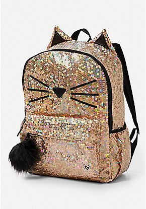 4f617fa0f70d Sparkle Cat Backpack. Sparkle Cat Backpack Cute Bags ...