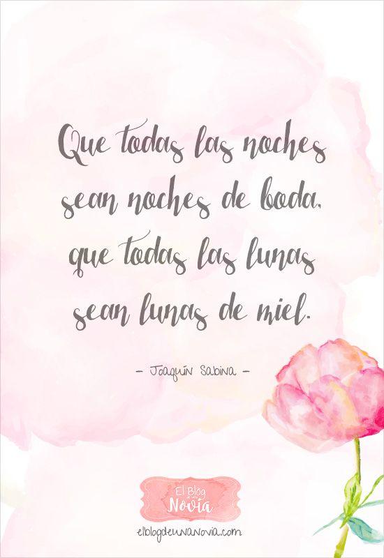 Frases de Amor y otras tonterías | El Blog de una Novia | Pinterest ...
